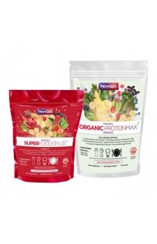 Superboost Duo Pack (1 x ORG ProteinMax Original + 1 x Superfoods Plus)