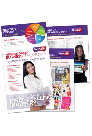 Business Leaflet (pack 10)