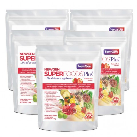 FAMILY PACK - NEWGEN SUPERFOODS PLUS