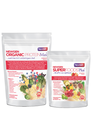 Superboost Duo Pack (1 x ORG ProteinMax Original + 1 x Superfoods Plus)