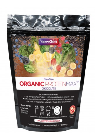 Pre-order - Organic ProteinMax (Chocolate)