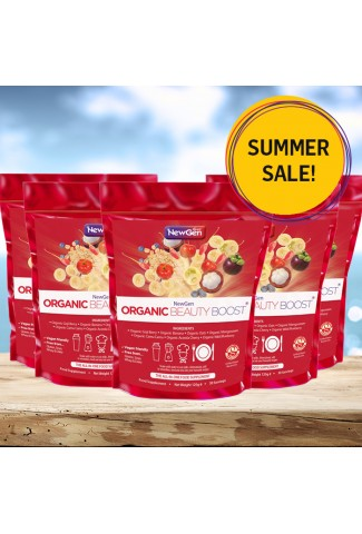 Summer sale - Organic Beauty Boost pack of 5 - £30 off. Normal SRP £227.50