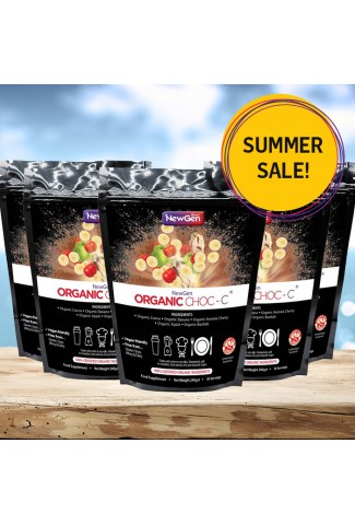 Summer sale - Organic Choc C, 5 pack deal £20 off. Normal SRP £224.95