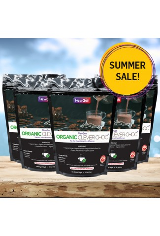 Summer sale - Organic Clever Choc, 5 pack deal £30 off. Normal SRP £224.95