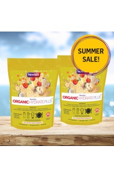 Summer sale - £12 off pack of 2 x Organic Hydrate Plus - Normal SRP £89.98