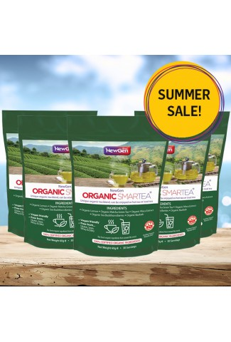 Summer sale - £30 off a pack of 5 Smartea - Reduced from RRP £224.95