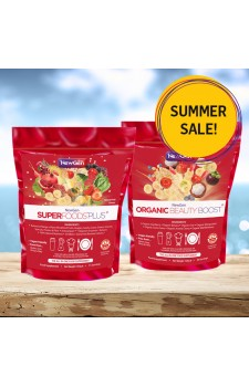 Summer sale - £12 off - 1 x Superfoods Plus, 1 x Organic Beauty Boost - Normal SRP £84.49