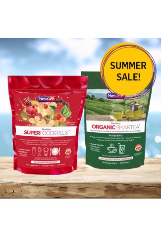 Summer Sale - £12 off 1 x Superfoods Plus and 1 x Organic Smartea - Normal SRP £83.98