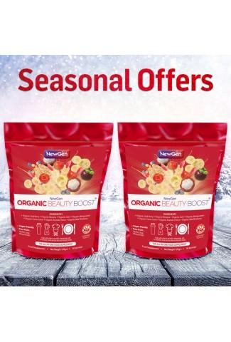 Seasonal Sale - Organic Beauty Boost pack of 2 - £12 off. Normal SRP £91