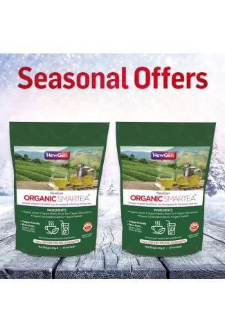 Seasonal Sale - £12 off  2 x Organic Smartea - Normal SPR £89.98